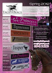 Tags For Nags - The Leading Online Equestrian Sign Manufacturer